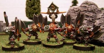 Axe-Horn Warriors